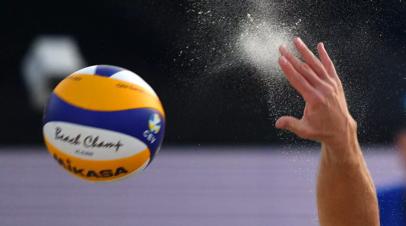 Россияне Самодай и Величко завоевали бронзу на этапе Мирового тура по пляжному волейболу