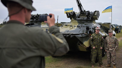 На учениях Вооружённых сил Украины и НАТО Rapid Trident 2018
