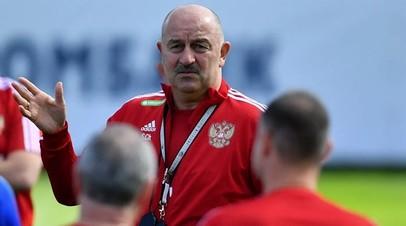Черчесов прокомментировал вызов в сборную России футболиста «Уфы» Фомина