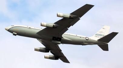 Самолёт, осуществляющий полёты, предусмотренные Договором по открытому небу