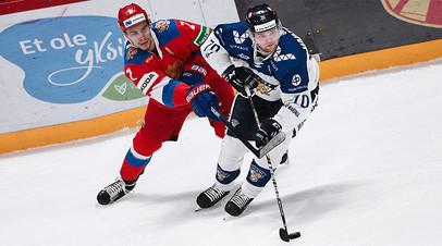 Неудачный дебют Кудашова: Россия уступила Финляндии в стартовом матче Еврохоккейтура