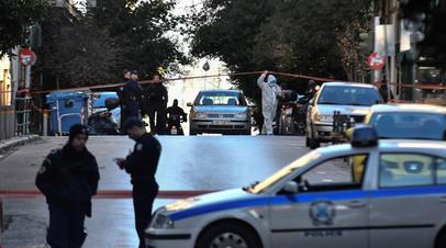 В Афинах прошла антитеррористическая операция