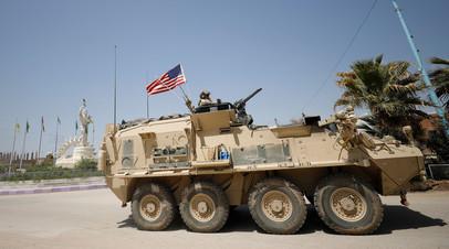Военная техника армии США в Сирии