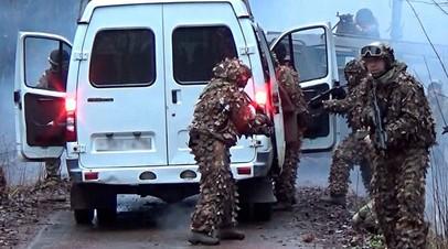 В Удмуртии прошли антитеррористические учения