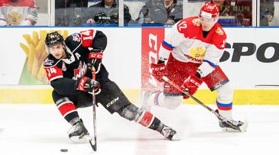 Победа в шестом матче и 14 буллитов до промаха: как молодёжная сборная России уступила канадцам в Суперсерии
