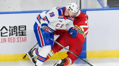 СКА одержал третью победу подряд в КХЛ
