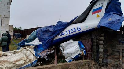 В Ленинградской области небольшой самолёт совершил жёсткую посадку