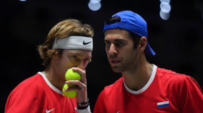 Сборная России по теннису проиграла Испании в Кубке Дэвиса