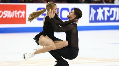 Степанова и Букин заняли второе место на этапе Гран-при в Японии
