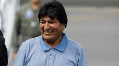 Дети Моралеса вылетели из Боливии в Аргентину