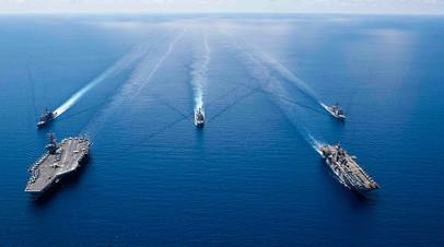 Корабли США в Южно-Китайском море