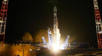 Запуск ракеты-носителя лёгкого класса «Союз-2.1в» со спутником-инспектором с космодрома Плесецк