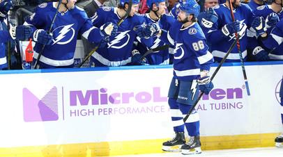 Шайбы Кучерова и Сергачёва помогли «Тампе» обыграть «Баффало» в НХЛ