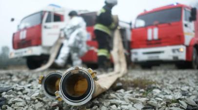 В Волгоградской области ликвидировали открытое горение на складе