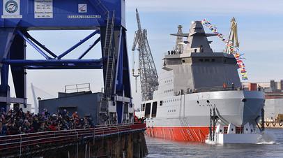 Патрульный корабль ледового класса проекта 23550 «Иван Папанин»