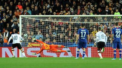 «Валенсия» и «Челси» сыграли вничью в матче ЛЧ