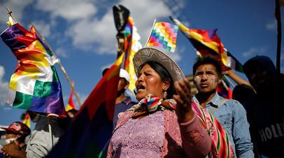 «Важно, кого он поддержит»: какую роль сыграет Моралес в президентских выборах в Боливии