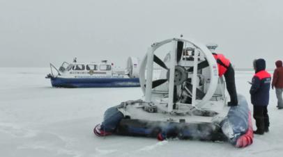 В Марий Эл спасены находившиеся на оторвавшейся на Волге льдине рыбаки