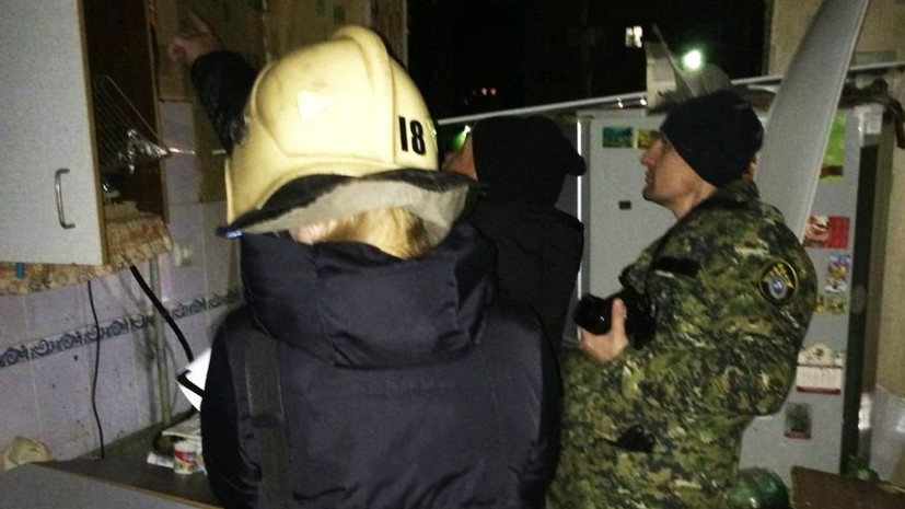 СК проводит проверку по факту хлопка газа в Ярославле