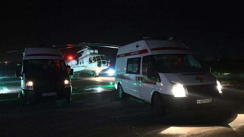 В районе Забайкалья ввели режим ЧС после ДТП с автобусом
