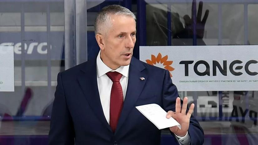 В «Авангарде» прокомментировали возможный уход Хартли в НХЛ