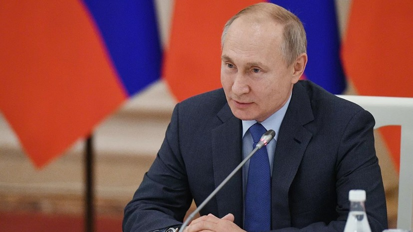 Путин назвал расширение НАТО потенциальной угрозой для России