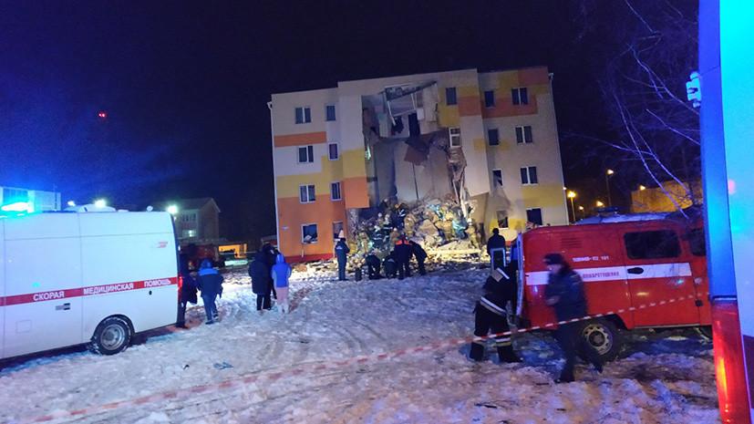 При хлопке газа в доме под Белгородом пострадали шесть человек