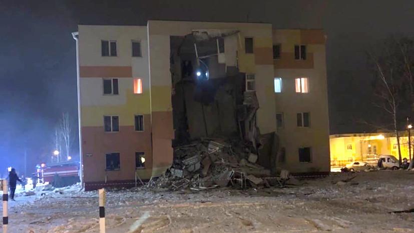 Тело мужчины нашли под завалами дома после ЧП под Белгородом