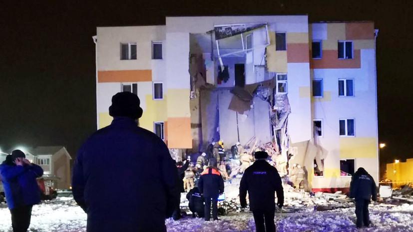 Один человек погиб и шестеро пострадали: что известно о хлопке бытового газа в жилом здании под Белгородом