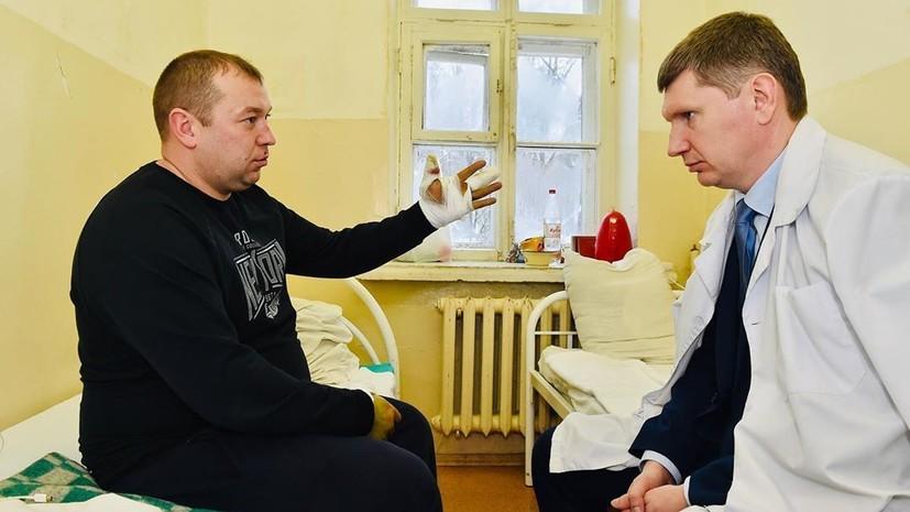 Пострадавшего при стрельбе в Перми росгвардейца представят к награде