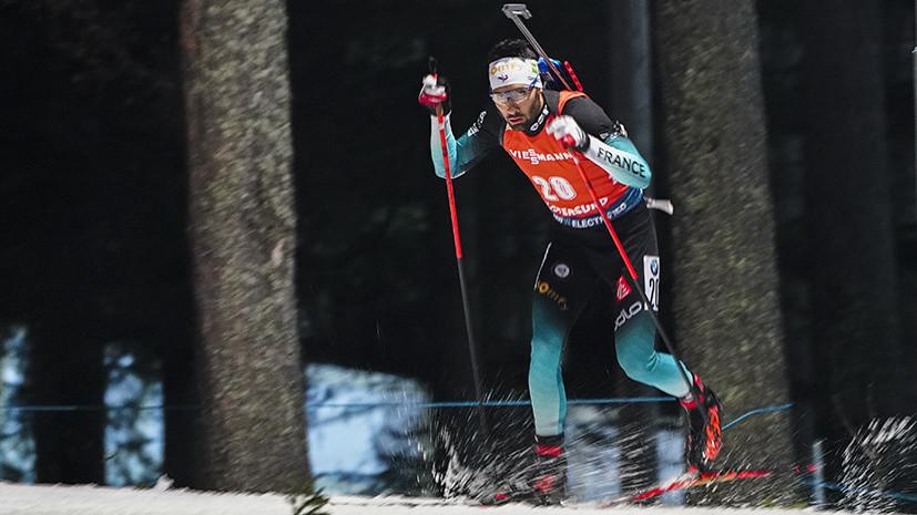 В десятке: Елисеев стал восьмым в индивидуальной гонке на этапе КМ по биатлону в Эстерсунде