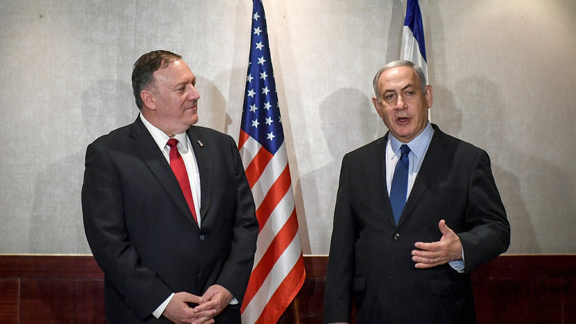 Помпео провёл переговоры с Нетаньяху