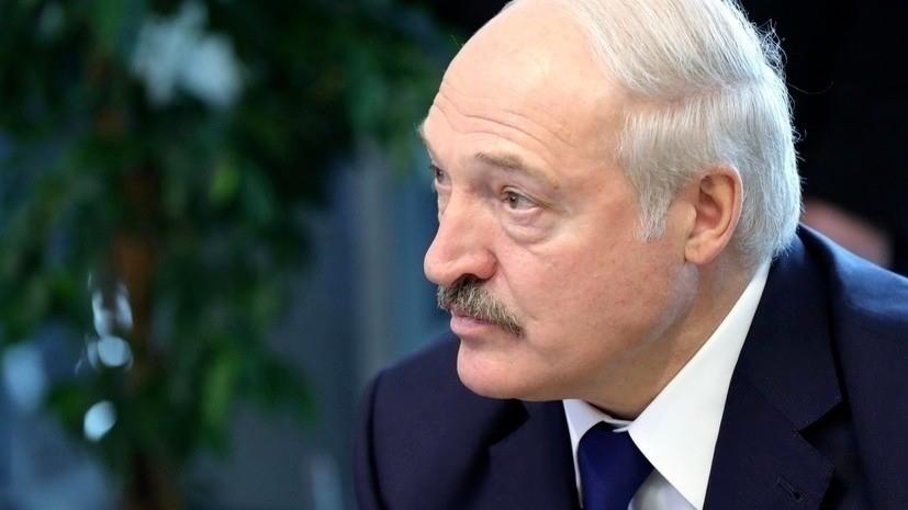 Лукашенкоотверг возможностьприсоединения Белоруссии кРоссии