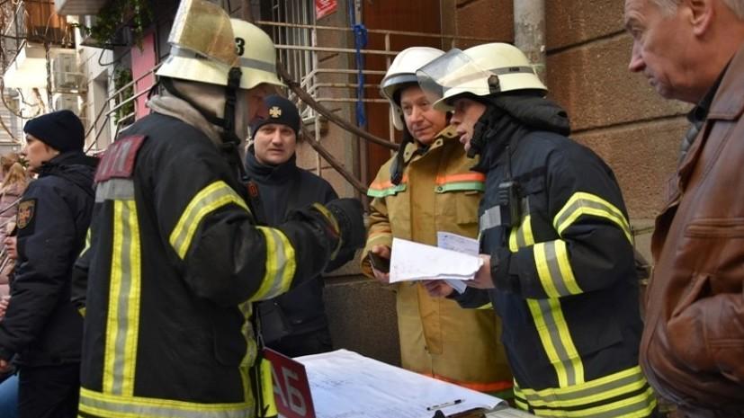 СМИ: Число погибших при пожаре в Одессе возросло до двух