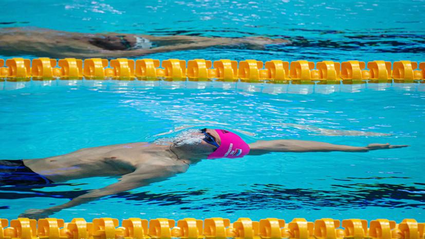 Российские пловцы установили мировой рекорд в эстафете на чемпионате Европы в Глазго