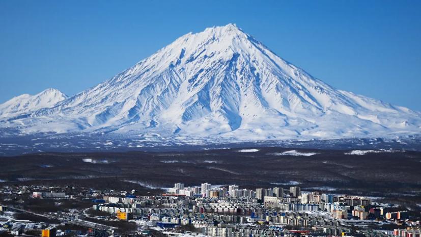 Специалисты предупредили о возможности извержения вулкана на Камчатке