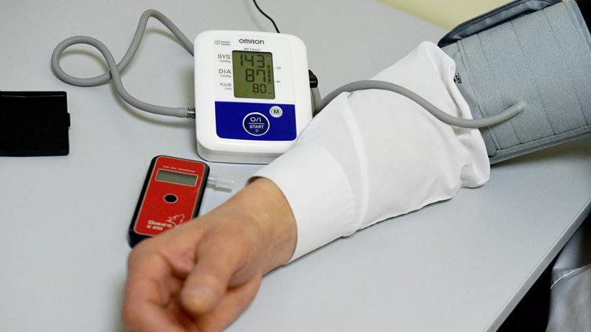 В России выросло число больных гипертонией