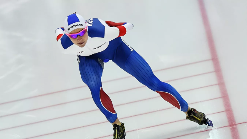 Казелина одержала победу на этапе КМ по конькобежному спорту