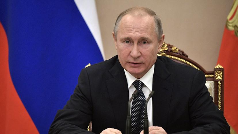 «Вопрос не в территории, а в экономической целесообразности»: Путин рассказал о сохранении транзита газа через Украину