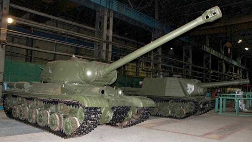 В Омске восстановили советскую технику времён Великой Отечественной войны