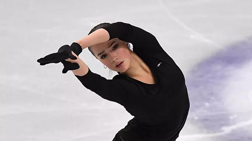 Загитова заявила, что контролировала себя во время короткой программы