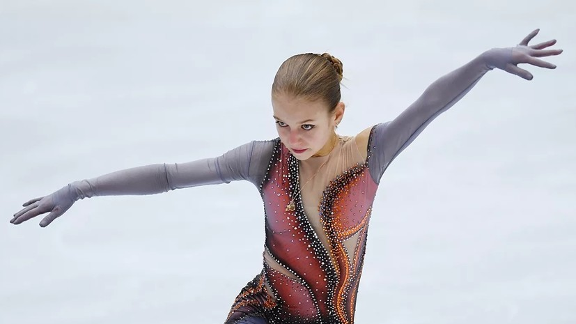 Трусова: не расстроилась из-за падения в финале Гран-при