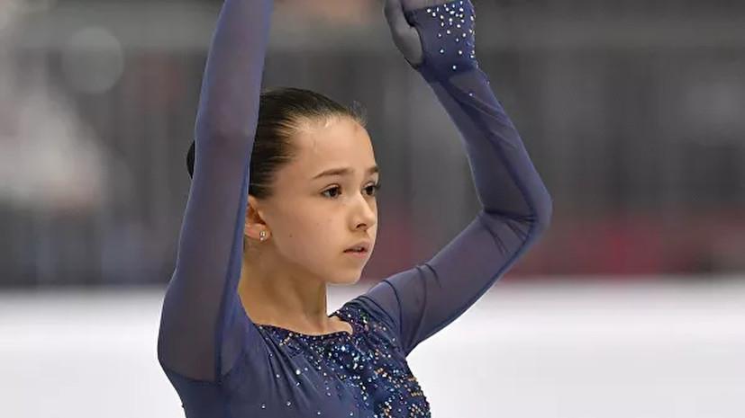 Фигуристка Валиева выиграла финал юниорского Гран-при