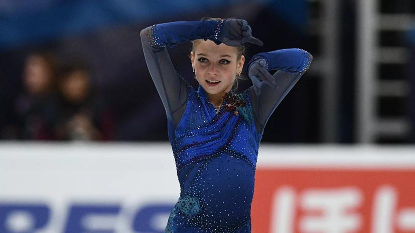 Тарасова высказалась об ошибке Трусовой в короткой программе финала Гран-при