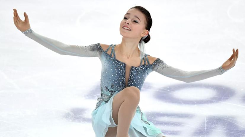 Тарасова: Щербакова выполнила каскад, как Загитова на Олимпиаде