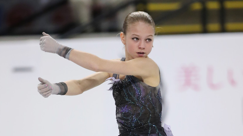 Фигуристка Трусова подала заявление об уходе от тренера Тутберидзе