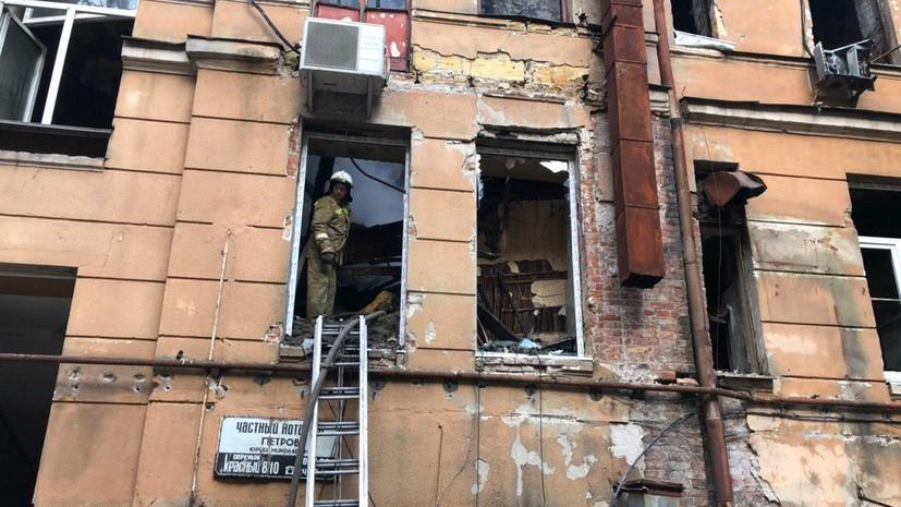 Число погибших при пожаре в одесском колледже достигло десяти