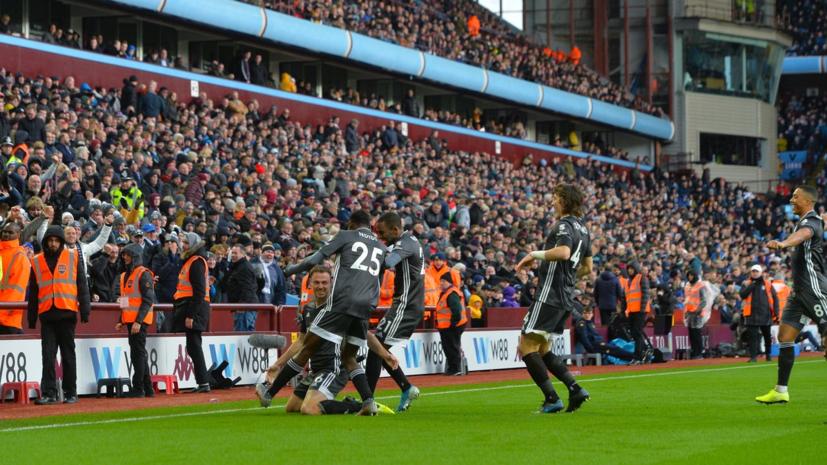 «Лестер» обыграл «Астон Виллу» и увеличил отрыв от «Манчестер Сити» в АПЛ