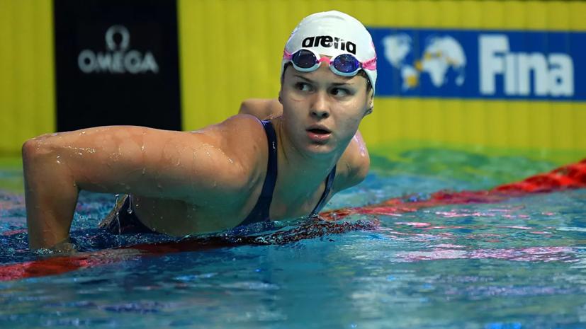 Россиянки стали третьими в эстафете на ЧЕ по плаванию на короткой воде