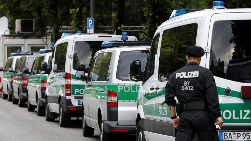 В Мюнхене на полицейского напали с ножом